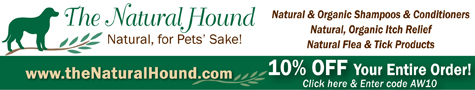 Banner Ad designed for Animal Wellness magazine online