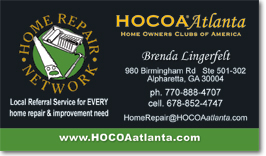 Atlanta business card design and business card printing - Contractor