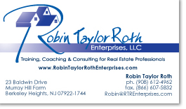 Business card design and printing for RTR Enterprises in New Jersey