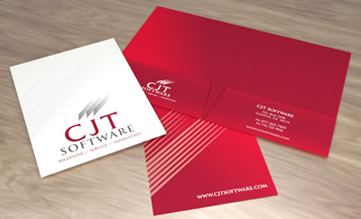 business folder design cjt th