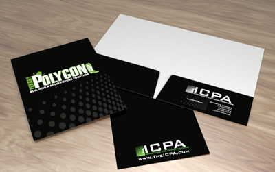 business folder design icpa th