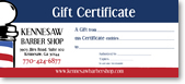 kb giftcertificate